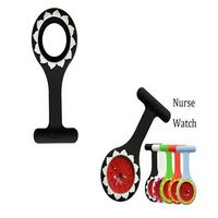 Nurse Watch With Brooch in The Silicone Case