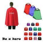 Custom Satin Velcro Superhero Cape