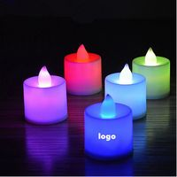 LED colorful candle lights
