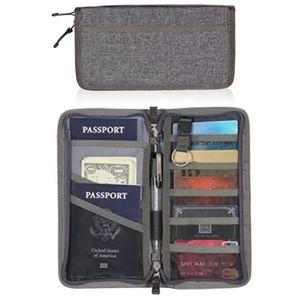 Travel Passport Ticket Wallet