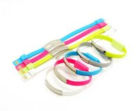 USB/Charging Data Cable Flat Bracelet