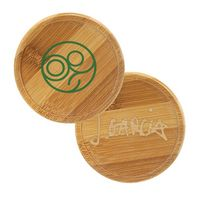 Bamboo Round Beverage Coaster