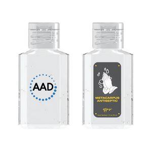 SALE! 1 oz. Square Bottle Antibacterial Hand Sanitizer Gel