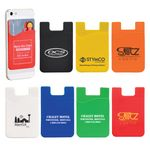 Custom Slim Silicone Smartphone Mobile Wallet