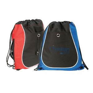 1049d89c610a 600D Polyester Drawstring Backpack - DBAG01 - IdeaStage Promotional Products