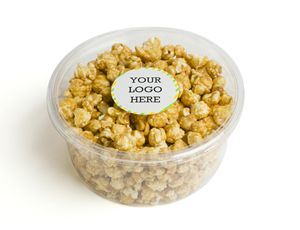 Custom Sea Salt Caramel Popcorn
