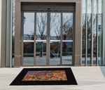 Custom Logo Emissary Outdoor Mat - Rubber