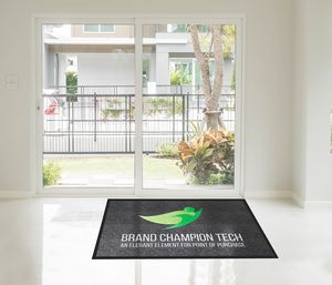 Brand Champion Tech Logo Mat