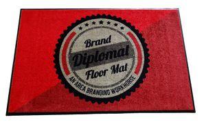 Brand Diplomat Floor Mat