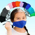 Kids Adjustable Face Masks Filter Pocket - Reusable Youth 3D Mask - In Stock - Free Shipping & Setup