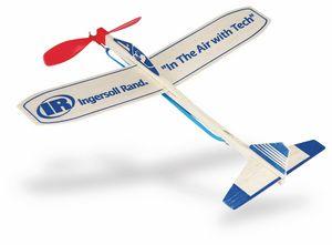 Custom Made Propeller Balsa Wood Airplanes!