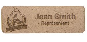 MDF Magnet Name Badge