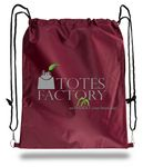 Custom Heavyweight Waterproof Polyester Drawstring Bag