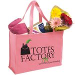 Custom Non Woven Boxy Tote Bag with All Around Gusset