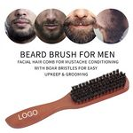 Custom Bristle Beard Comb Brush