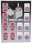 Custom 12 Rebel Lighters on Counter Display