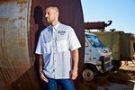 Custom Short Sleeve Woven Fishing Shirt