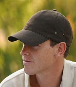 Oil Cloth Cap