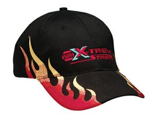 Black Structured Brushed Twill Monster Flame Cap - 857 - IdeaStage  Promotional Products 458cc39723d3