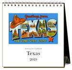 Custom 2019 Easel Desk Calendars