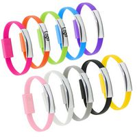 Silicone bracelet USB Data cable