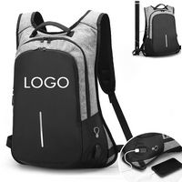 Computer backpack with USB Charging Port Anti-theft