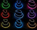 Custom Neon Led Flashing Fedora Hat