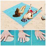 Custom Sand free Beach Blanket 79*59