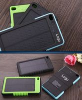 Solar powered bank charger 6000mAh