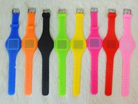 Silicon LED Touch Watch