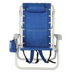 Custom Outdoor Foldable Aluminum Backpack Beach Chair