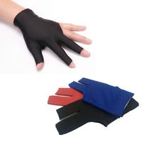 Billiards Three Finger Gloves
