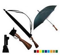 "42"" Custom Logo Gun Handle Auto Umbrella"