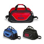 Custom All Purpose Sports Duffel with Shoe Compartment