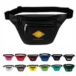 Custom 3-Zip Fanny Pack, Personalised Fanny Pack, Custom Logo Fanny Pack, Printed Fanny Pack