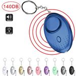 Custom Personal Alarm, Emergency Self-Defense Security Alarms with LED Light, Personal Safety Alarm