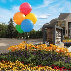 Balloon Bobber Cluster Pole Kit w/ Ground Mount