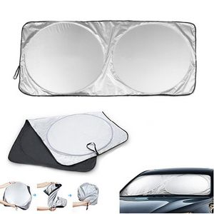 Folding Car Windshield Sunshade