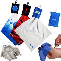 Microfiber Cleaning Cloth & Pouch