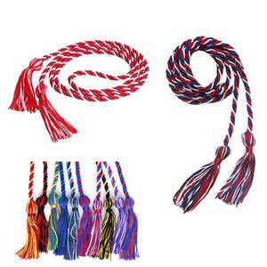 Multiple colors Braided Single Honor Cord