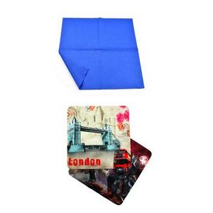 Microfiber Cleaning Cloth In Pouch