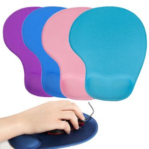 Silicone Mouse Pad w/Wrist Rest