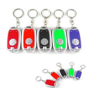 LED Flashligh with Key Ring