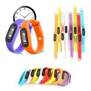 Custom Silicone Wrist Pedometer