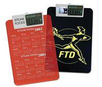 Letter Size Clipboard w/Dual Power Calculator Clip
