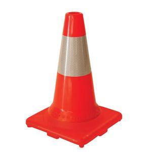 Traffic Cone w/6 Hi Intensity Collar