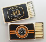 Personalized Matchbox - Custom branded with your text, logo or photo