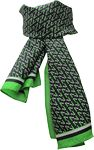 Custom Custom Silk Scarf- Digital Print - Oblong - 11