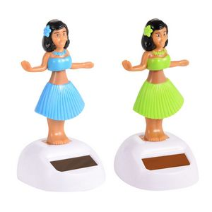 Custom Solar Powered Swing Hula Girl