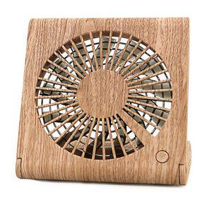 Custom Wood-grain Desktop Mini USB Fan